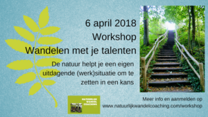 Wandelen coaching workshop talent